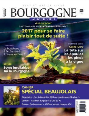 Votre domaine Calot est cité dans la revue Bourgogne Aujourd'hui !